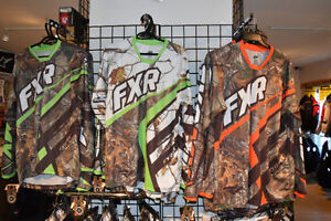 FXR MOTORCROSS REAL TREE JERSEYS AND PANTS NOW 25% OFF!!