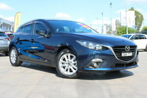 2015 Mazda 3 BM5478 Maxx SKYACTIV-Drive Blue 6 Speed Sports Automatic Hatchback Penrith Penrith Area Preview