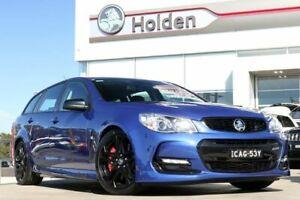 2017 Holden Commodore VF II MY17 SS V Sportwagon Redline Slipstream Blue 6 Speed Sports Automatic Liverpool Liverpool Area Preview