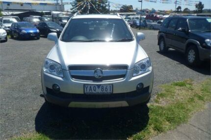 2010 Holden Captiva CG MY10 LX (4x4) Silver 5 Speed Automatic Wagon Bayswater North Maroondah Area Preview