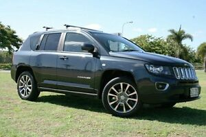 2013 Jeep Compass MK MY14 Limited Black 6 Speed Sports Automatic Wagon Townsville Townsville City Preview