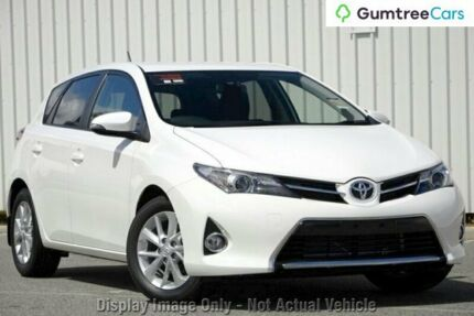 2012 Toyota Corolla ZRE182R Ascent Sport S-CVT White 7 Speed Constant Variable Hatchback