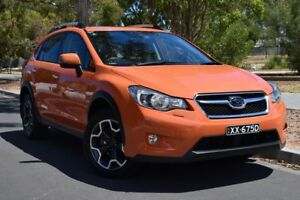 2012 Subaru XV G4X MY13 2.0i-S Lineartronic AWD Orange 6 Speed Constant Variable Wagon St Marys Mitcham Area Preview