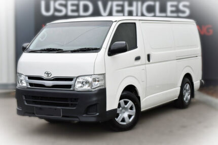 2010 Toyota Hiace KDH201R MY10 LWB White 4 Speed Automatic Van Berwick Casey Area Preview