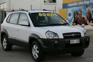 2005 Hyundai Tucson White 4 Speed Auto Selectronic Wagon Fyshwick South Canberra Preview