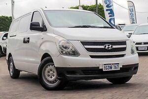 2009 Hyundai iLOAD TQ-V White 5 Speed Manual Van Embleton Bayswater Area Preview