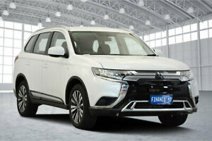 2018 Mitsubishi Outlander ZL MY19 ES AWD Starlight 6 Speed Constant Variable Wagon