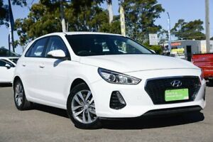 2017 Hyundai i30 PD MY18 Active White 6 Speed Sports Automatic Hatchback Condell Park Bankstown Area Preview
