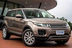 2018 Land Rover Range Rover Evoque L538 MY18 TD4 150 SE Brown 9 Speed Sports Automatic Wagon Wangara Wanneroo Area Preview