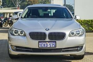 2010 BMW 528I F10 Steptronic Silver 8 Speed Sports Automatic Sedan Victoria Park Victoria Park Area Preview