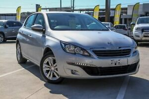 2015 Peugeot 308 T9 Active Silver 6 Speed Sports Automatic Hatchback Aspley Brisbane North East Preview