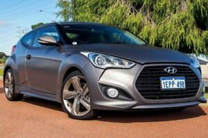2014 Hyundai Veloster FS3 SR Coupe Turbo Grey 6 Speed Sports Automatic Hatchback Wangara Wanneroo Area Preview