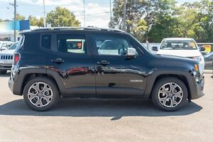 2015 Jeep Renegade BU MY15 Limited DDCT Black 6 Speed Sports Automatic Dual Clutch Hatchback Greenacre Bankstown Area Preview