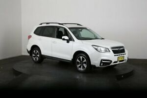 2016 Subaru Forester MY16 2.0D-L White Continuous Variable Wagon McGraths Hill Hawkesbury Area Preview