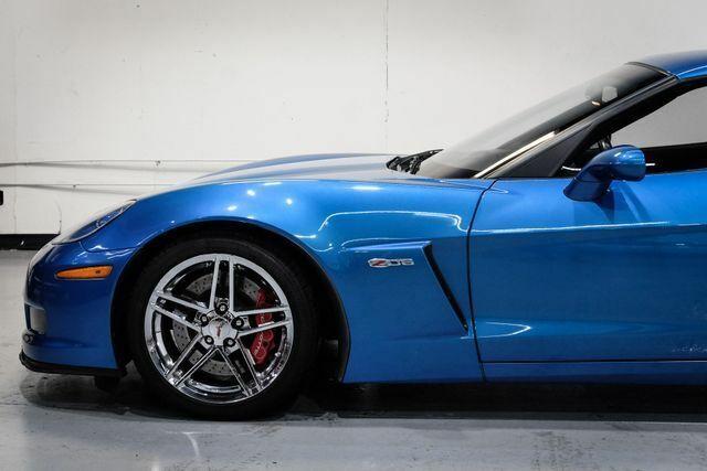 2008 Blue Chevrolet Corvette Z06  | C6 Corvette Photo 10