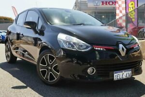 2014 Renault Clio X98 Expression Black 6 Speed Automated Manual Hatchback