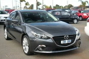 2014 Mazda 3 BM5438 SP25 SKYACTIV-Drive Grey 6 Speed Sports Automatic Hatchback Cheltenham Kingston Area Preview