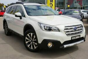 2016 Subaru Outback B6A MY16 2.0D CVT AWD Premium White 7 Speed Constant Variable Wagon Phillip Woden Valley Preview
