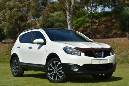 2013 Nissan Dualis J10W Series 3 MY12 Ti-L Hatch X-tronic 2WD White 6 Speed Constant Variable St Marys Mitcham Area Preview