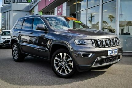 2018 Jeep Grand Cherokee WK MY18 Limited Grey 8 Speed Sports Automatic Wagon Myaree Melville Area Preview