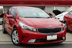 2018 Kia Cerato YD MY18 S Red 6 Speed Sports Automatic Hatchback Cheltenham Kingston Area Preview