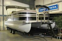 2013 Premier 220 Sunsation Pontoon Boat with Trailer