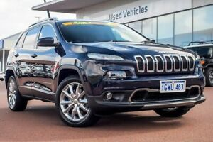 2014 Jeep Cherokee KL MY15 Limited True Blue 9 Speed Sports Automatic Wagon