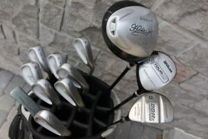 Golf set clubs & bag men's right handed R20C Turbo Power include