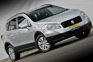 2013 Suzuki S-Cross JY GL Silver 7 Speed Constant Variable Hatchback Ferntree Gully Knox Area Preview