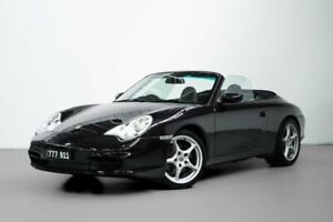 2003 Porsche 911 Carrera 996 MY03 Cabriolet Black 6 Speed Manual Convertible Port Melbourne Port Phillip Preview
