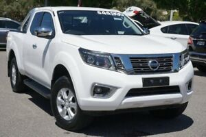2019 Nissan Navara D23 S4 MY19 ST King Cab White 7 Speed Sports Automatic Utility Phillip Woden Valley Preview