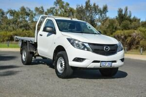 2016 Mazda BT-50 UR0YF1 XT 4x2 Hi-Rider White 6 Speed Manual Utility Cannington Canning Area Preview