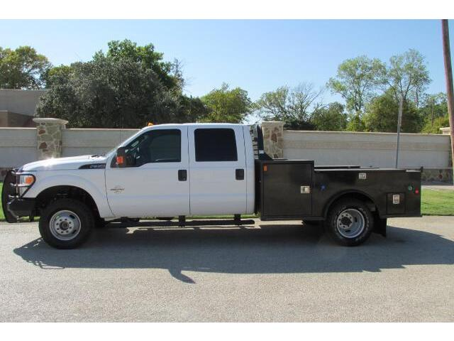 12 Ford F350 Crew Cab 4x4 Flatbed Utility Service Body Mechanics - Used Ford F-350 for sale in ...