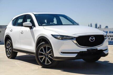2018 Mazda CX-5 KF4WLA GT SKYACTIV-Drive i-ACTIV AWD White 6 Speed Sports Automatic Wagon Osborne Park Stirling Area Preview
