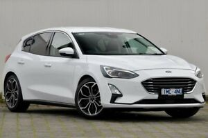 2018 Ford Focus SA 2019MY Titanium White 8 Speed Automatic Hatchback Dandenong Greater Dandenong Preview