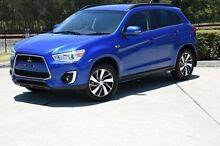 2014 Mitsubishi ASX XB MY15 LS 2WD Blue 6 Speed Constant Variable Wagon Helensvale Gold Coast North Preview