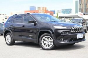 2015 Jeep Cherokee KL MY15 Longitude Black 9 Speed Sports Automatic Wagon Northbridge Perth City Area Preview