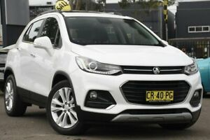 2018 Holden Trax TJ MY18 LTZ White 6 Speed Automatic Wagon Condell Park Bankstown Area Preview