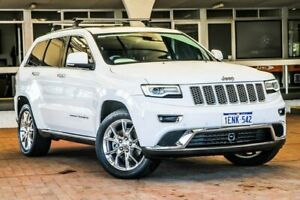 2014 Jeep Grand Cherokee WK MY2014 Summit White 8 Speed Sports Automatic Wagon Melville Melville Area Preview