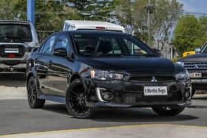 2017 Mitsubishi Lancer CF MY17 Black Edition Black 6 Speed Constant Variable Sedan Aspley Brisbane North East Preview