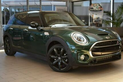 2018 Mini Clubman F54 Cooper S Steptronic Green 8 Speed Sports Automatic Wagon Belconnen Belconnen Area Preview