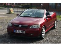 Vauxhall Astra Convertible 1.8 (Cheap convertible with MOT)