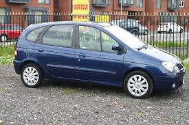 Renault Scenic 1.6 (Cheap family car with MOT)