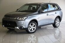 2015 Mitsubishi Outlander ZJ MY14.5 ES 4WD Grey 6 Speed Constant Variable Wagon Southport Gold Coast City Preview