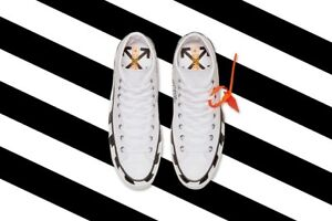 off-white chuck taylor size 12 brand new with receipt