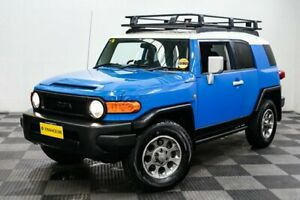 2011 Toyota FJ Cruiser GSJ15R Blue 5 Speed Automatic Wagon