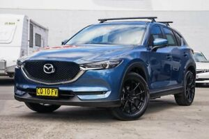 2018 Mazda CX-5 KF2W7A Maxx SKYACTIV-Drive FWD Sport Blue 6 Speed Sports Automatic Wagon Tweed Heads Tweed Heads Area Preview