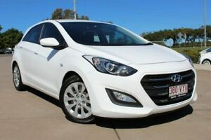 2015 Hyundai i30 GD4 Series II MY16 Active White 6 Speed Sports Automatic Hatchback Noosaville Noosa Area Preview
