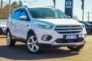 2017 Ford Escape ZG Trend 2WD White 6 Speed Sports Automatic Wagon Wangara Wanneroo Area Preview