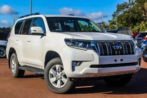 2019 Toyota Landcruiser Prado GDJ150R GXL White 6 Speed Sports Automatic Wagon Cannington Canning Area Preview